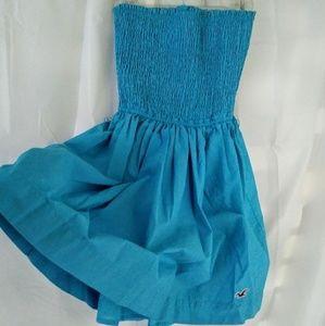 Hollister tube top mini dress